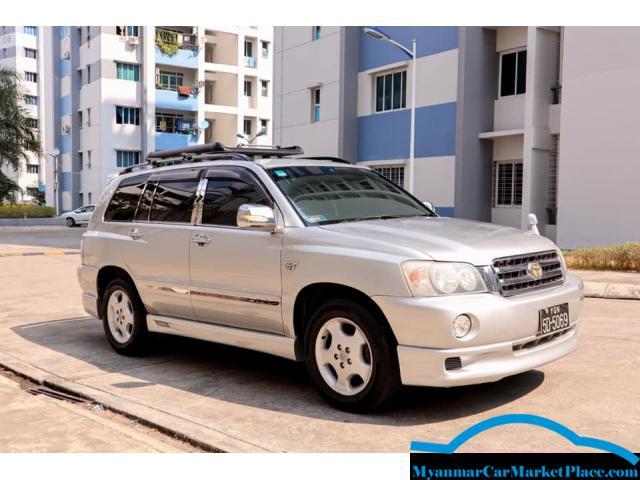 Toyota_Kluger 2001 Model