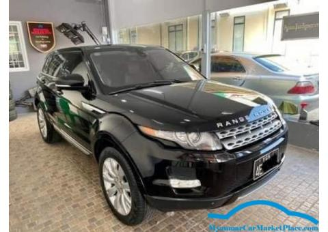 Range Rover Evoque 2012 model