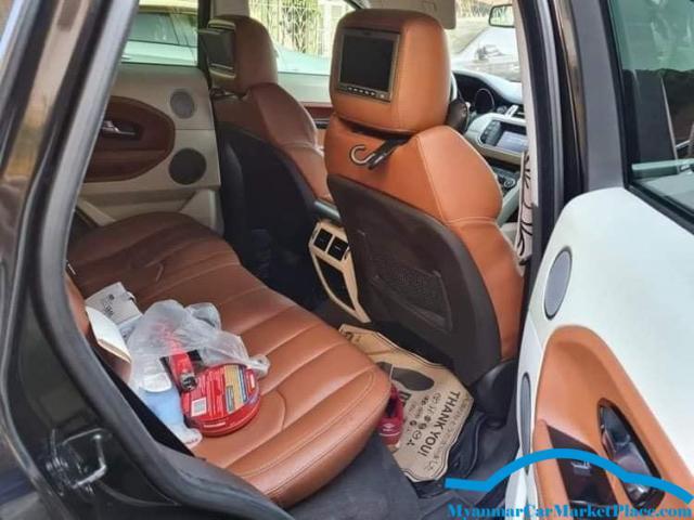 Range Rover Evoque 2012 model